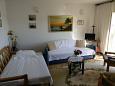obývací pokoj 16 m2, počet lůžek 2 (pohovka, pohovka)