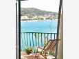 balkón 3 m2, výhled na moře