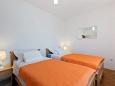 ložnice 15 m2, počet lůžek 2 (jednolůžko, jednolůžko)