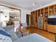 obývací pokoj 25 m2, počet lůžek 2 (pohovka)
