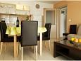 obývací pokoj 10 m2, počet lůžek 2 (pohovka)