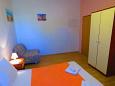 ložnice 12 m2, počet lůžek 3 (dvojlůžko, křeslo)