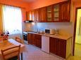 kuchyně 5 m2, vybavení: lednička, sporák, trouba, mrazák