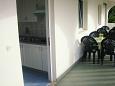 balkón 6 m2, výhled na moře