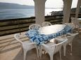 terasa 14 m2, výhled na moře