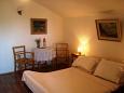 ložnice 15 m2, počet lůžek 2 (dvojlůžko)