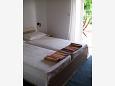 ložnice 11 m2, počet lůžek 2 (jednolůžko, jednolůžko)