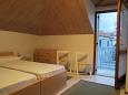ložnice 14 m2, počet lůžek 2 (jednolůžko, jednolůžko)