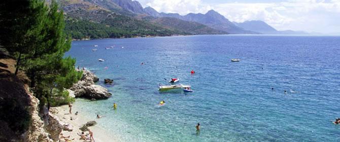 Živogošče Chorvatsko dovolená