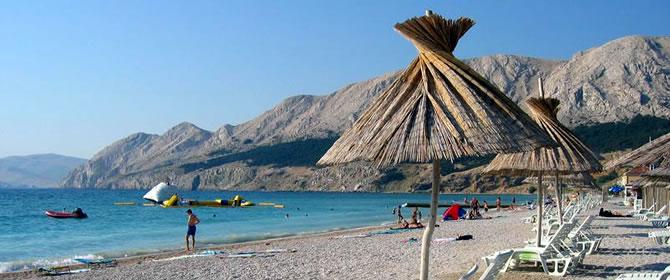 Ostrov Krk - Baška (Chorvatské ostrovy)