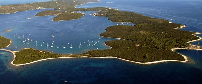 Národní park Kornati - chorvatské ostrovy