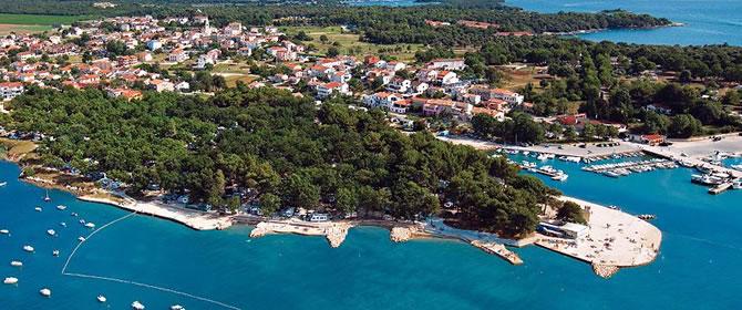 Funtana - Chorvatsko Istrie