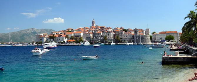 Chorvatsko - Jižní Dalmácie dovolená