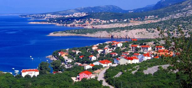 Chorvatsko - Klenovica (apartmány, ubytování)