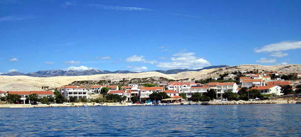 Ostrov Pag - Kustoviči (Chorvatsko)