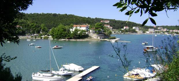 Lopar - ostrov Rab (Chorvatsko apartmány)