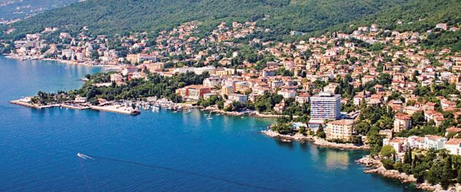 Opatija Chorvatsko apartmány
