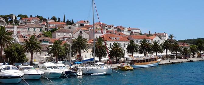 Chorvatské ostrovy - ostrov Hvar