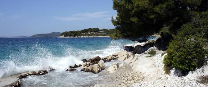 Ostrov Pašman Chorvatsko