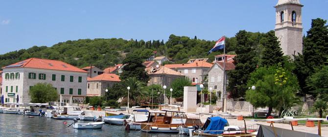 Ostrov Prvić Chorvatsko