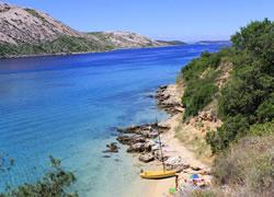 Ostrov Rab Chorvatsko