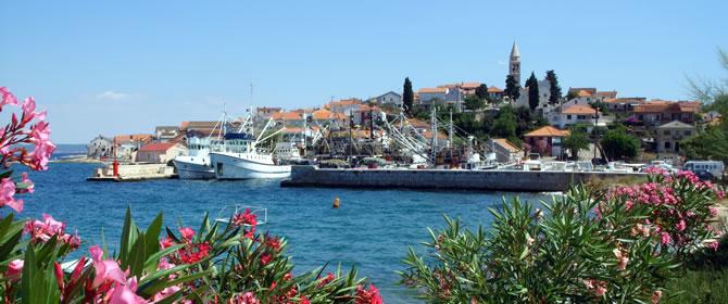 Ostrov Ugljan Chorvatsko