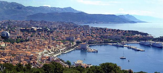 Split - Chorvatsko (Střední Dalmácie)