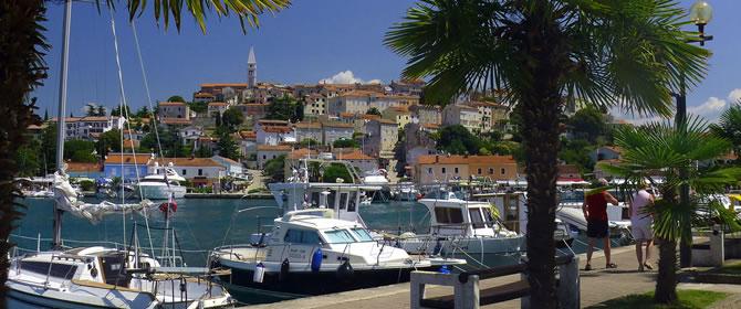 Istrie - dovolená Chorvatsko