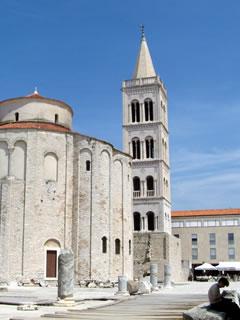 Památky v Zadaru (Chorvatsko)
