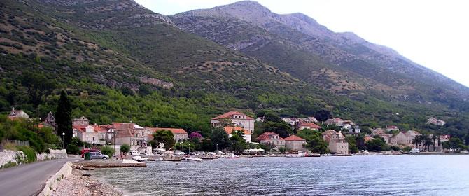 Kučište - Pelješac Chorvatsko