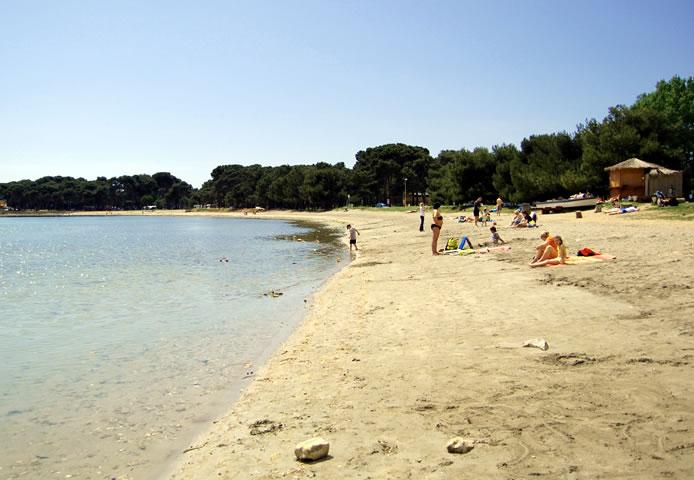 Moře, pláže - Medulin