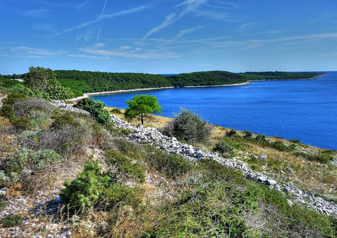Premantura Istrie Chorvatsko