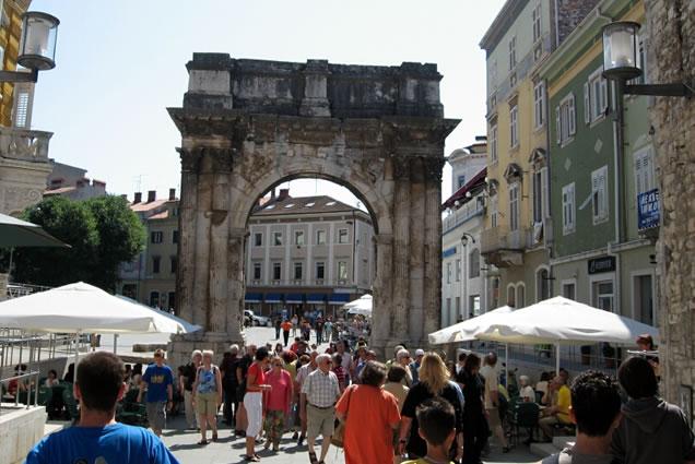 Pula Istrie dovolená levně