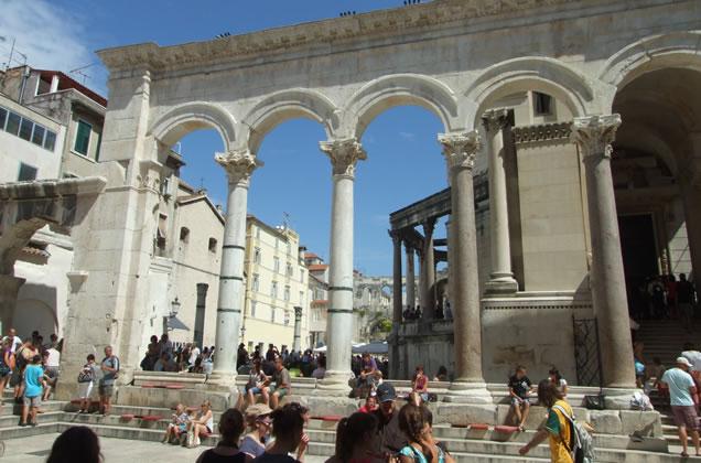 Dioklecianův Palác ve Splitu
