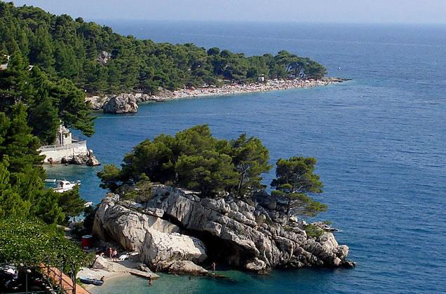 Brela - dovolená v Chorvatsku