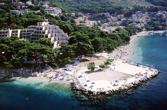 Brela - hotely na Makarské