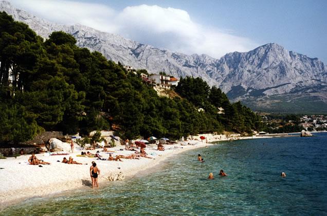 Makarská - Brela - Chorvatsko
