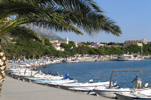 Dovolená v Chorvatsku - Baška Voda