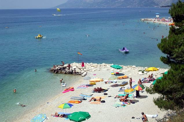Baška Voda - Makarská riviéra (Chorvatsko)