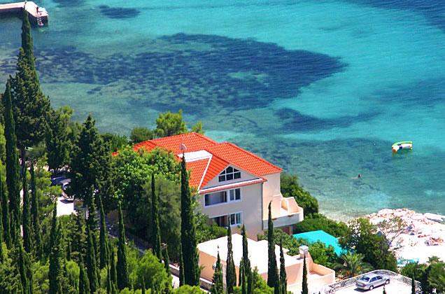 Orebič - luxusní vily u moře