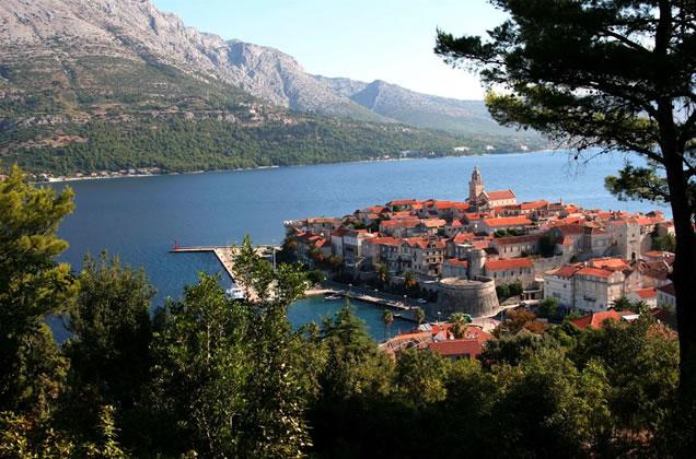 Město Korčula - Jižní Dalmácie
