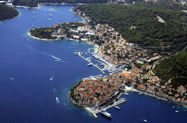 Ostrov Korčula - Korčula město