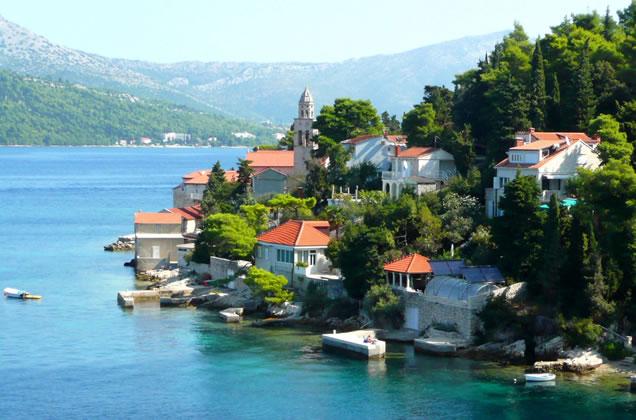 Okolí města Korčula