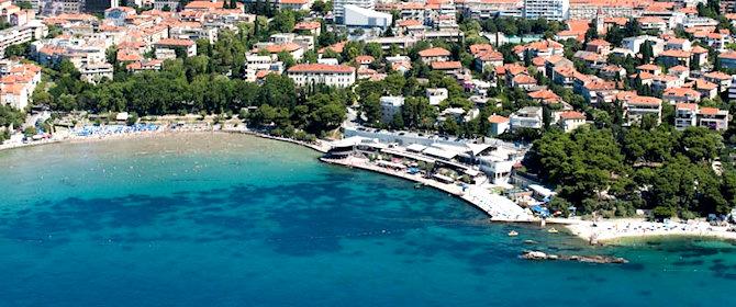 Pláž Bačvice - Split