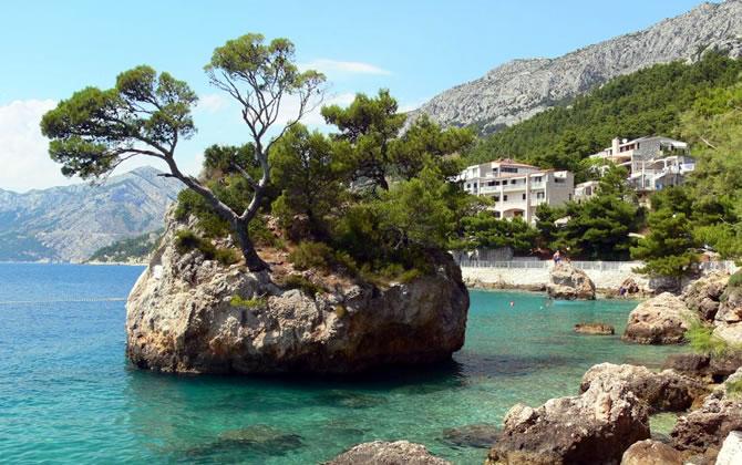 Brela - Chorvatsko dovolená v apartmánech