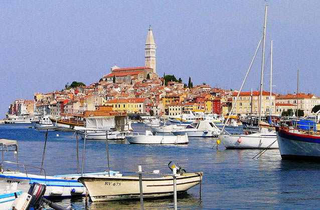 Chorvatsko - Rovinj dovolená, apartmány