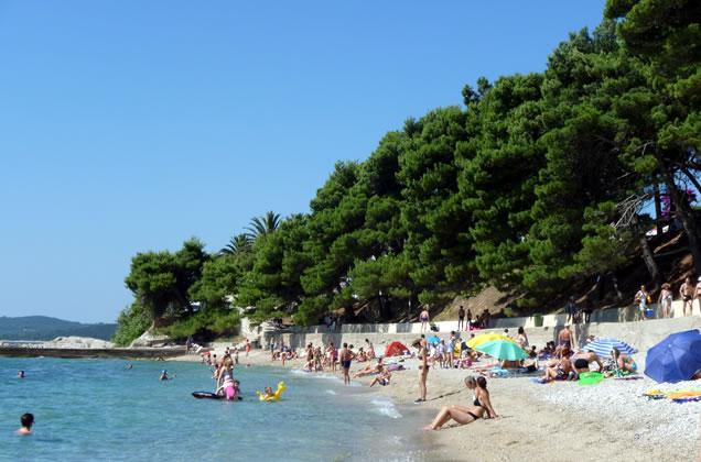Krásné pláže v Chorvatsku