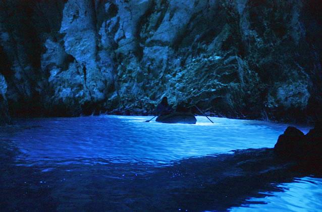 Tipy na výlet - Modrá jeskyně
