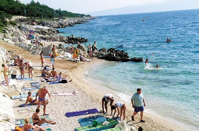 Rabac - Chorvatsko (nejkrásnější pláže)