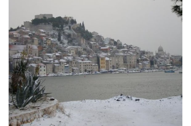 Šibenik - Chorvatsko v zimě
